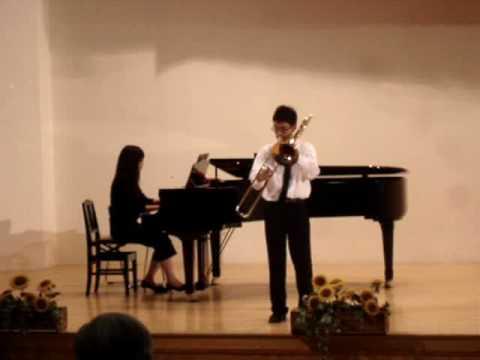 全國音樂比賽 - 長號獨奏指定曲