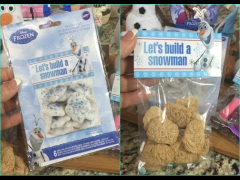 Wilton Frozen Olaf Goody Party Bag Labels