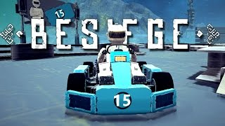 Best Besiege Creations! - Go Kart Race, Huge Anglerfish, Dump Truck, and More! - Besiege Gameplay