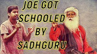 Arrogant student's provocative challenge to sadhguru