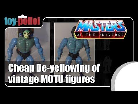 Fix It guide - Cheap De-yellowing of vintage MOTU figures
