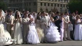 Парад невест в День города Волгограда