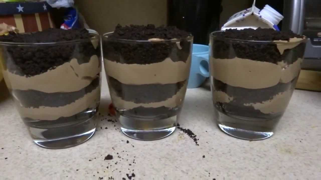 Oreo cookie chocolate mousse recipes