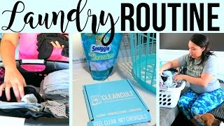 MY LAUNDRY ROUTINE 2017 | LAUNDRY HACKS + TIPS | Page Danielle