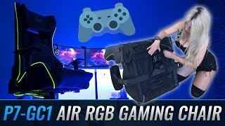 Sexy-сборка геймерского кресла P7-GC1 Air RGB I Aerocool