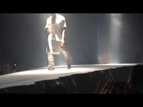 Kanye West JESUS WALKS Live @ ACC Toronto Dec 23rd 2013