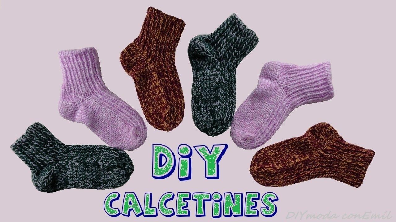 C mo tejer calcetines de lana en dos agujas youtube - Como hacer talon de calcetines de lana ...