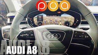 Nouvelle Audi A8 2018 : BIENVENUE A BORD !