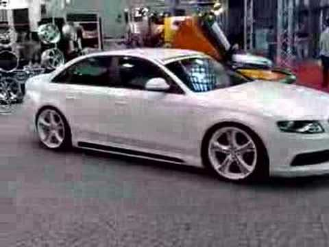 Audi A5 2.0 T >> My Spercial Car 2008 - Audi A4 S-line tuning white - YouTube
