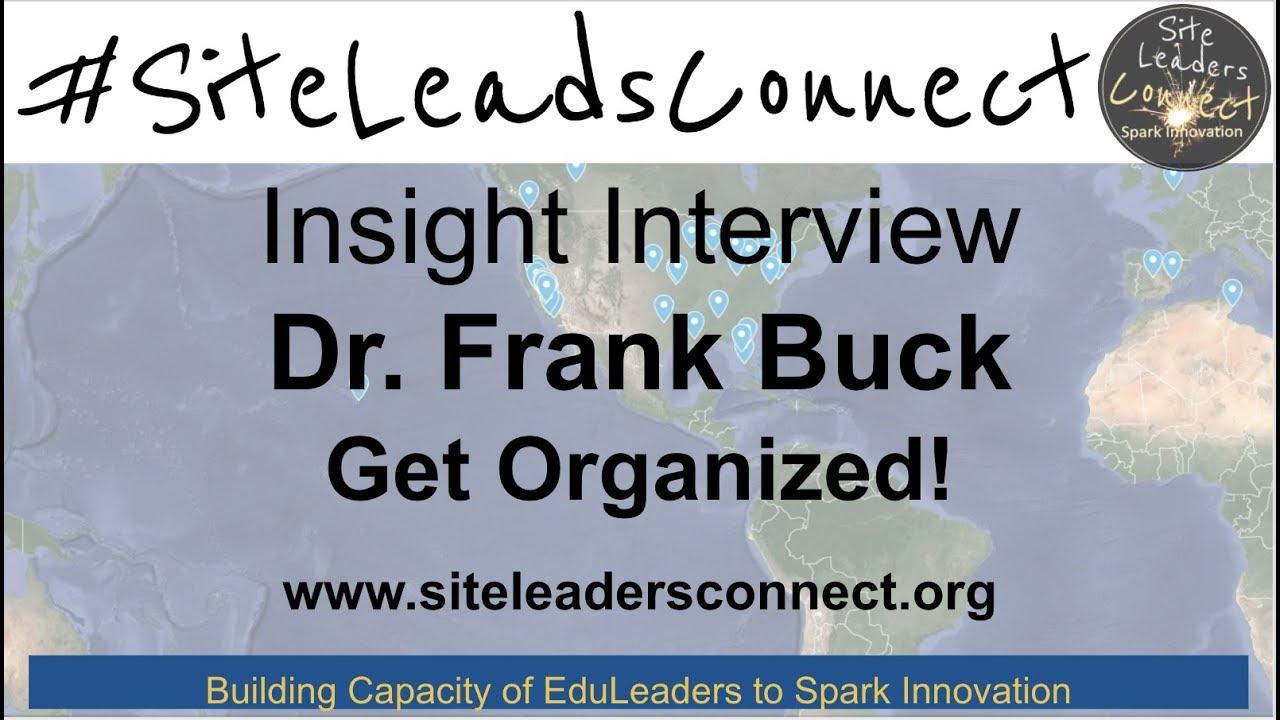 get organized buck frank