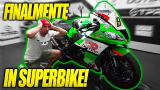 Trying a 240 HORSEPOWER SUPERBIKE of the WORLD CHAMPIONSHIP  and 180K😱! - KAWASAKI ZX-10R PEDERCINI