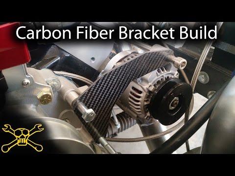 Carbon Fiber Fabrication | Making A Engine Accessory Bracket