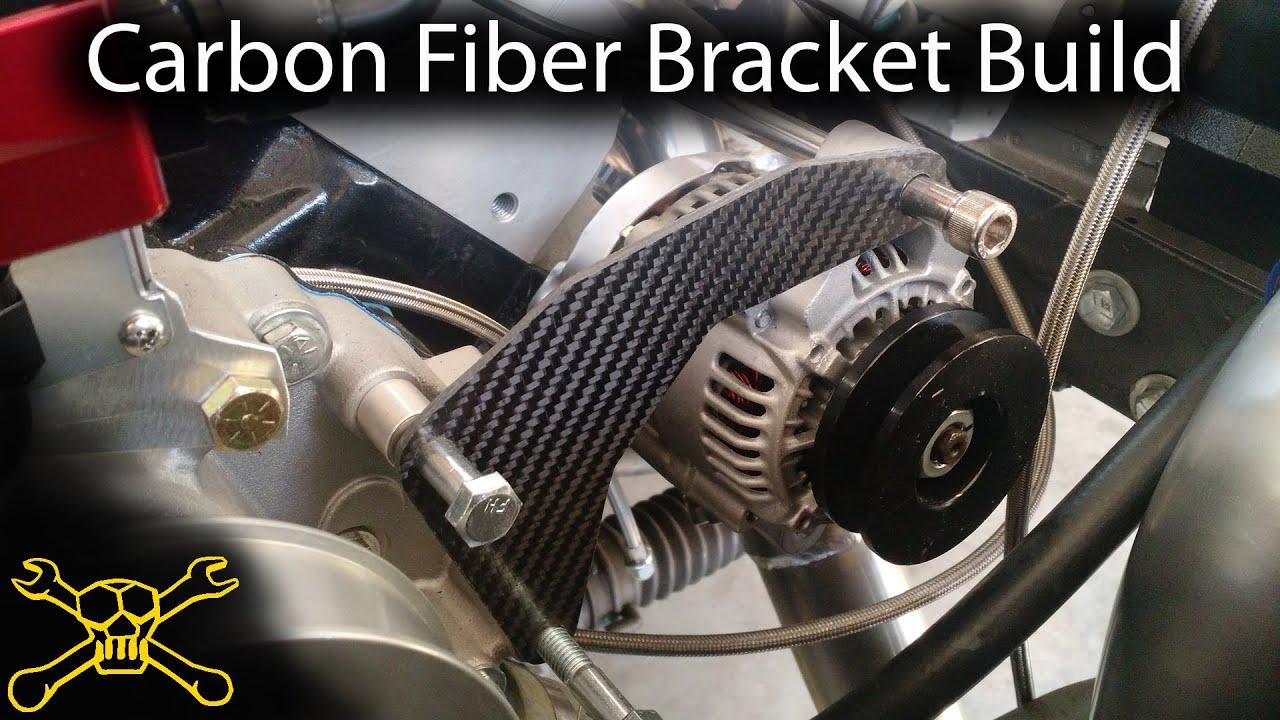 Carbon Fiber Fabrication | Making A Engine Accessory Bracket - YouTube