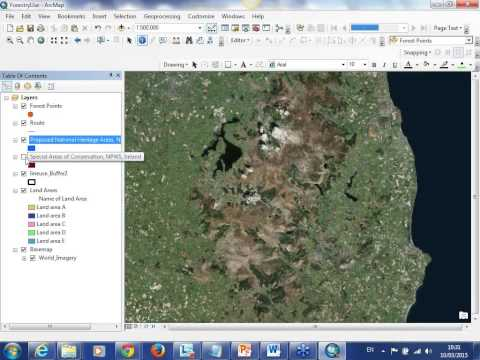 An Introduction to how ArcGIS can help you manage your fores