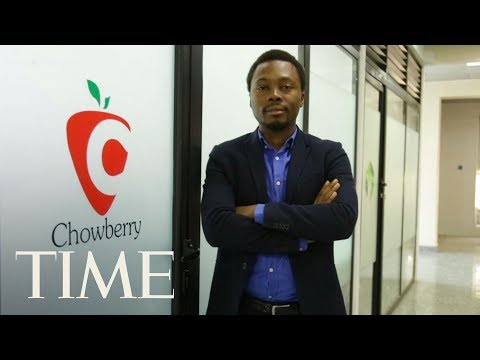 Oscar Ekponimo On Fighting Hunger With His Successful App   Next Generation Leaders   TIME