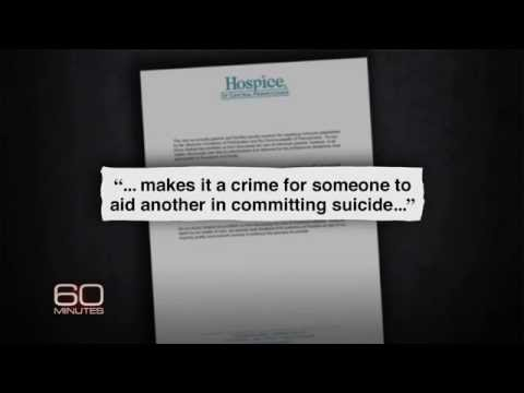 "CBS ""60 minutes"" - Ending Life. Assisted Suicide / Euthanasia"