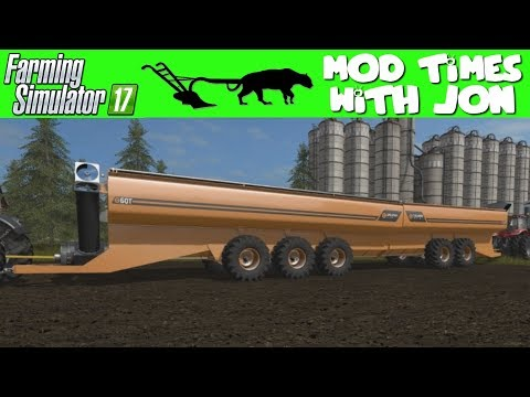 FARMING SIMULATOR 17 MOD TIMES WITH JON: COOLAMON CHASER BINS 45T AND 60T V1 0 0 0