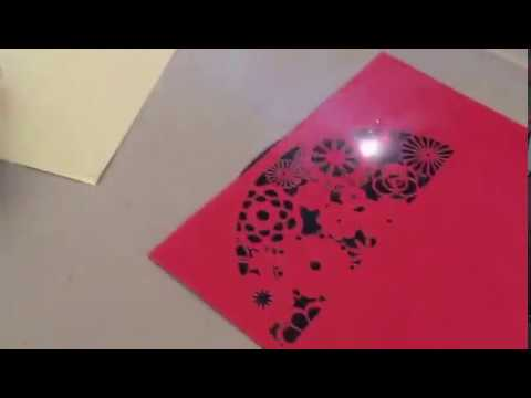Wedding invitation cards making machine youtube wedding invitation cards making machine stopboris Images