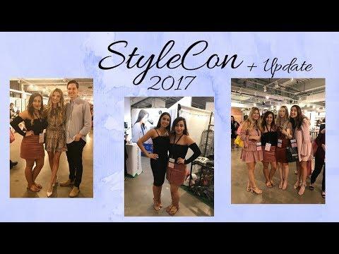 Stylecon Dallas 2017| Metting Youtubers| Goodie bag || Jackeline Design