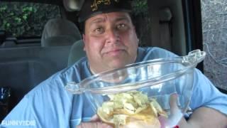 Joey's World Tour Nacho cheese hands free challenge (reuploaded)