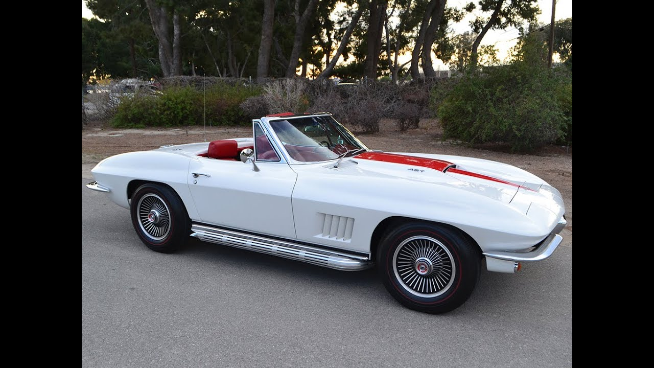 Sold 1967 chevrolet corvette convertible 427 400 factory ac for sale by corvette mike youtube