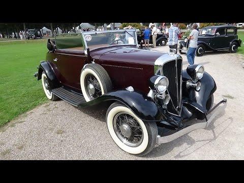 1933 Rockne 10 Roadster - Exterior and Interior - Classic-Gala Schwetzingen 2016