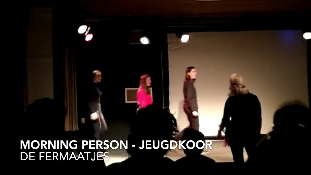 Morning Person - Jeugdkoor Fermaatjes