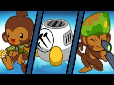 Winning with the Three Worst Towers! (Bloons TD Battles / BTD Battles)