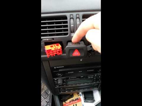 Demontage airbag volant + comodos Volkswagen Bora