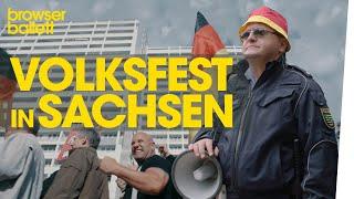 Volksfest in Sachsen