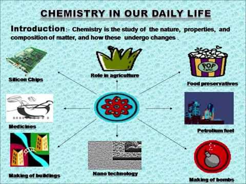 essay on applications of chemistry in daily life Polyvinyl chloride (pvc, or vinyl) is used in applications in the building and   vinyl is manufactured by polymerizing (linking together) a chemical called vinyl   consumers encounter in everyday life, and many more that are encountered less .