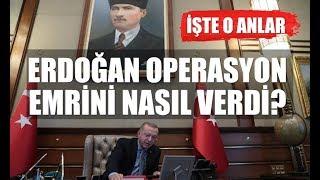 Cumhurbaşkanı Erdoğan, Barış Pınarı Harekatı için operasyon emrini nasıl verdi?