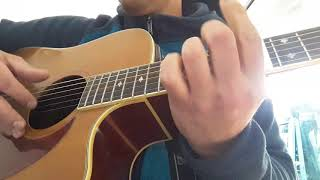 Stay - Rihanna - acoustic cover (lyrics + tab chords)