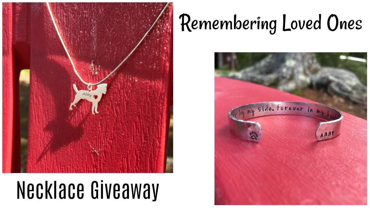 KEEPING YOUR PETS MEMORY ALIVE & GIVEAWAY   Allie Young