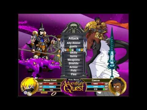 Adventure Quest: Best Armor 2016!! Pyromancer Bloodmage