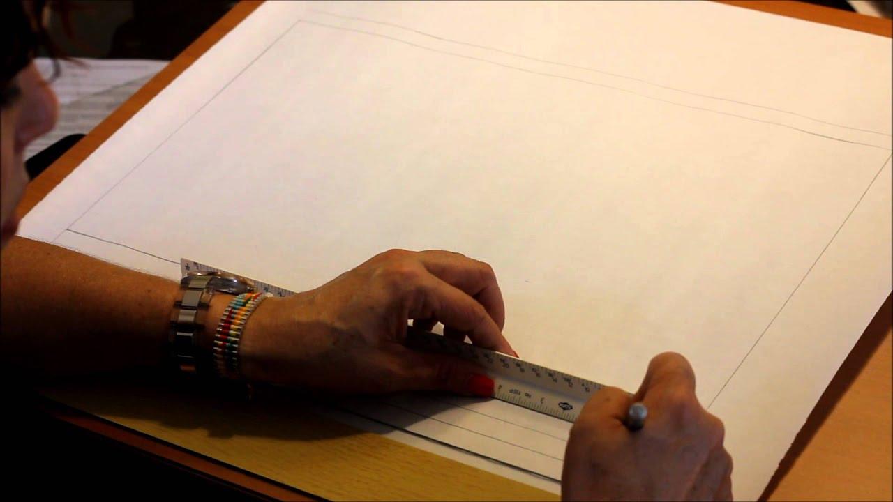 Formato Del Papel Para Dibujo T Cnico Youtube