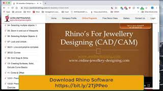 Cad jewellery design software free download | How to Design Jewelry