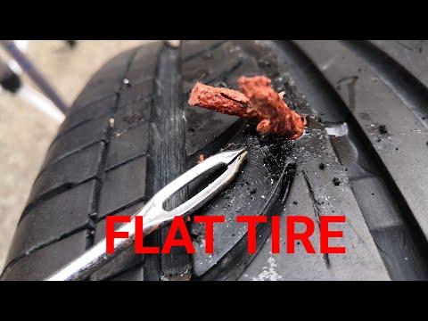 diy-how-to-fix-a-flat-tire-easy/-طريقة-اصلاح-بنشر-الكفر