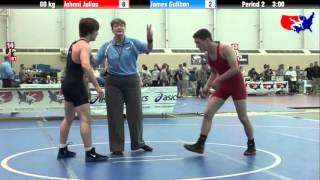 Johnni Julius vs. James Gulibon at 2013 ASICS University Nationals - FS