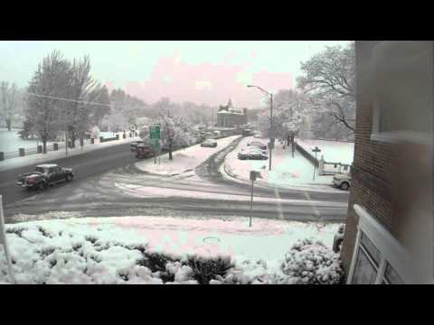 Andover MA Snow Time Lapse