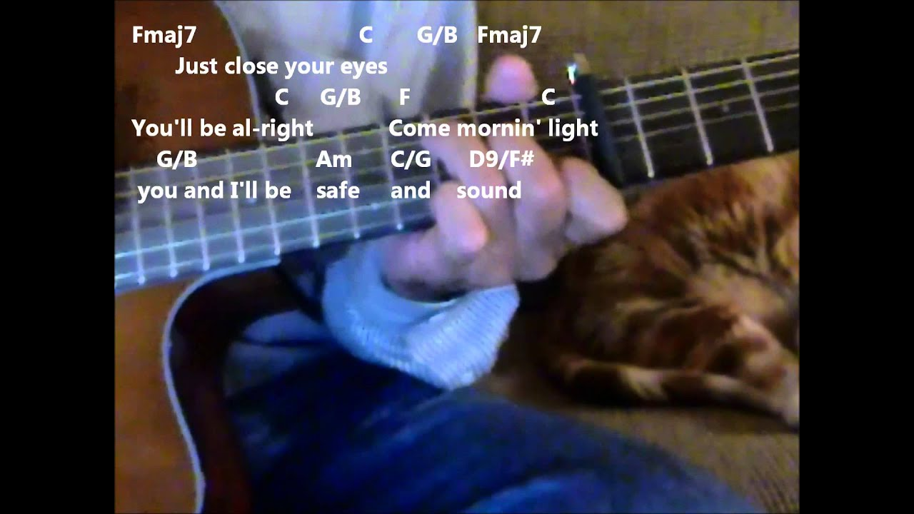 Safe And Sound By Taylor Swift Practice Video With Chords And Lyrics