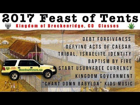Debt Forgiveness Pep Rally & Tents 2017 Henry Garman, Neo, James, Wayne