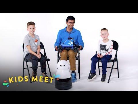 Kids Meet A Roboticist | Kids Meet | HiHo Kids