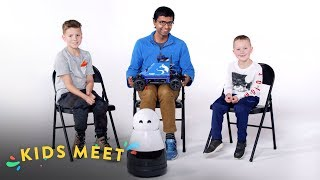 Kids Meet A Roboticist | Kids Meet | HiHo Kids