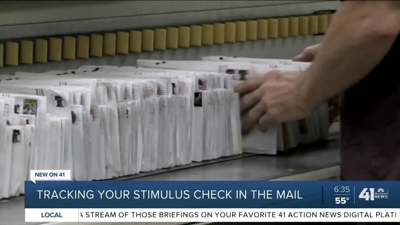 Tracking your stimulus check in the mail