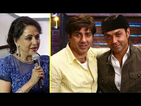 Hema Malini Speaks About Her Relationship With Stepson Sunny Deol
