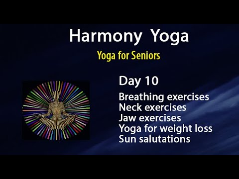 day 10  yoga for seniors pranayam  yoga for weight loss