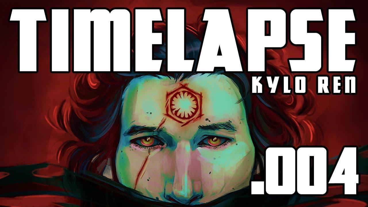 Kylo Ren: Timelapse 004