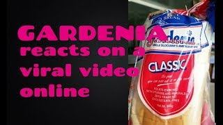 GARDENIA PHILS REACTS. VIRAL VIDEO OF GARDENIA BREAD TAMPERED PUBLICLY, binabawasan!