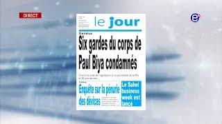 LA REVUE DES GRANDES UNES DU JEUDI 04 JUILLET 2019 - EQUINOXE TV